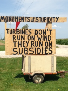 The people get it: subsidies mask the true costs of wind power