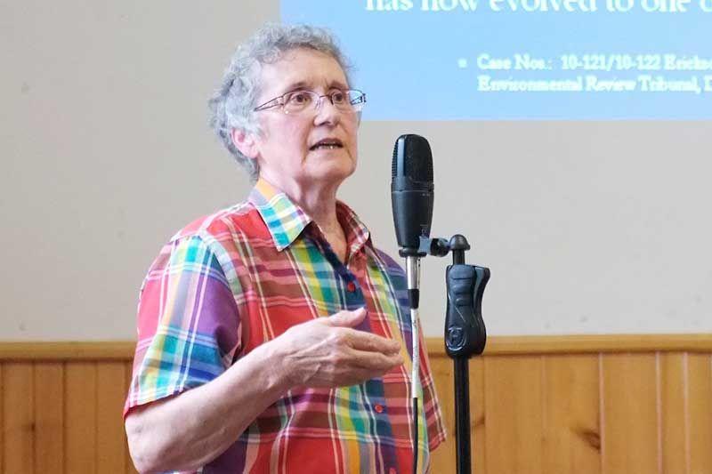 Carmen Krogh: no conflict of interest
